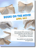 Library Poster Image - Books on the Move!