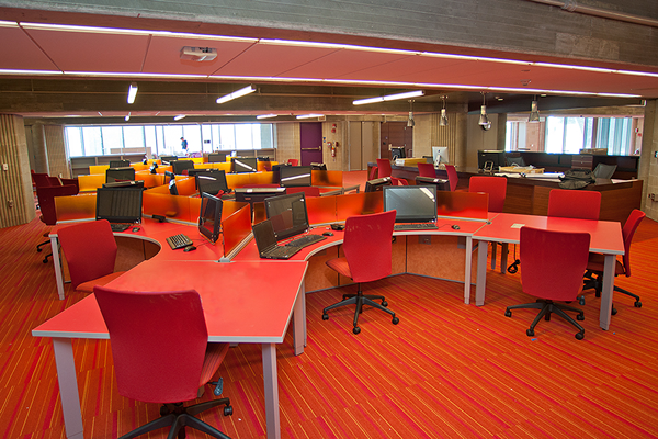 Learning Commons - Just Before Opening