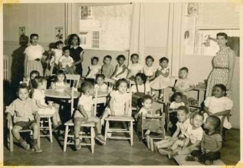 First all-Cape Verdean kindergarten, New Bedford, Massachusetts, courtesy of Betty Youngblood.