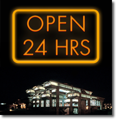 Library Open 24 Hours Starting April 26th; Ends May 13th at 10 PM