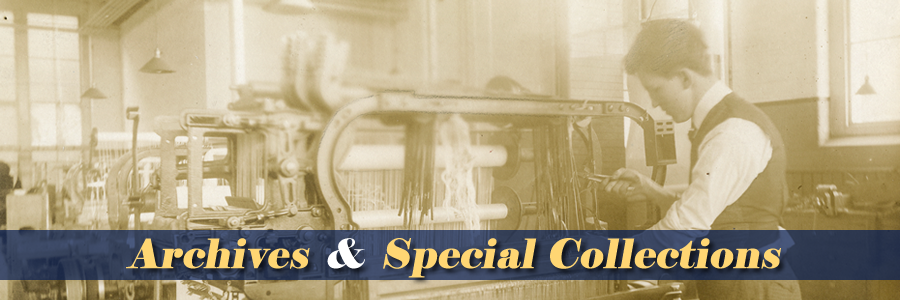 Archives & Special Collections and Image of Corduroy Worker