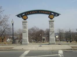 Entrance Archway to Clasky Common Park