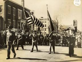 1949 dedication parade