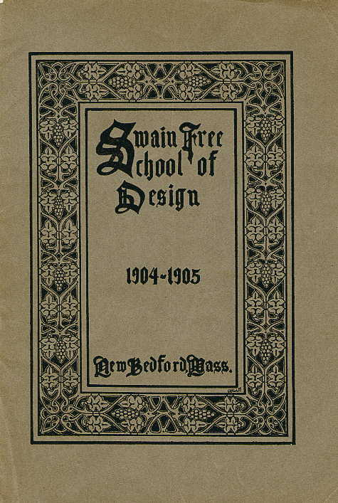 Swain catalogue cover 1904-1905