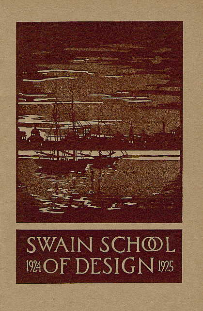Swain catalogue cover 1924-1925