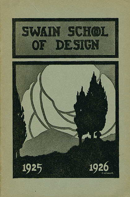 Swain catalogue cover 1925-1926