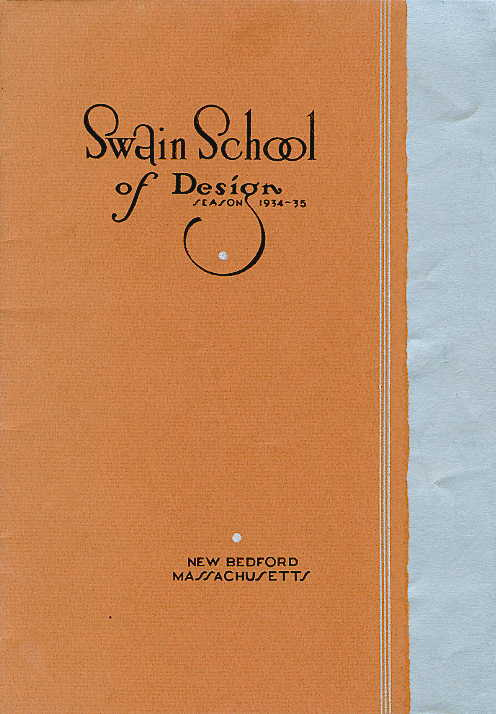 Swain catalogue cover 1934-1935