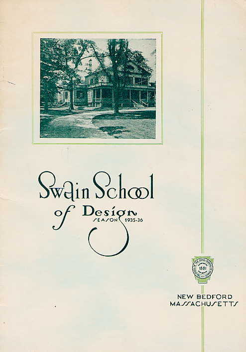 Swain catalogue cover 1935-1936