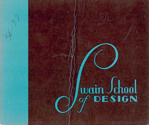 Swain catalogue cover 1936-1937