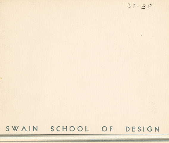 Swain catalogue cover 1937-1938