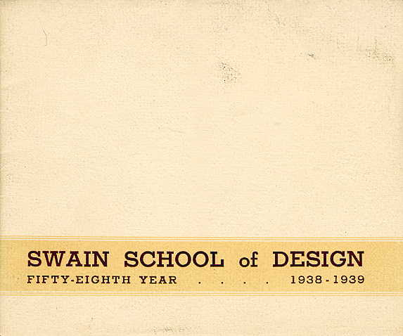 Swain catalogue cover 1938-1939