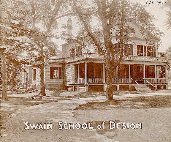 Swain catalogue cover 1940-1942