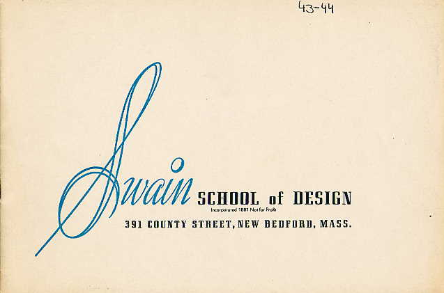 Swain catalogue cover 1943-1944