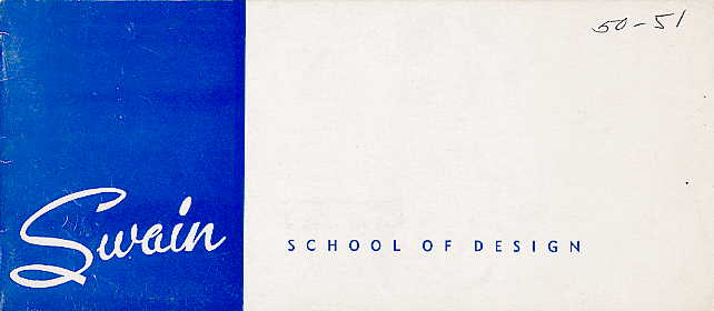 Swain catalogue cover 1950-1951
