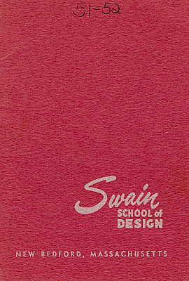 Swain catalogue cover 1951-1952