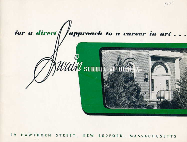 Swain catalogue cover 1956