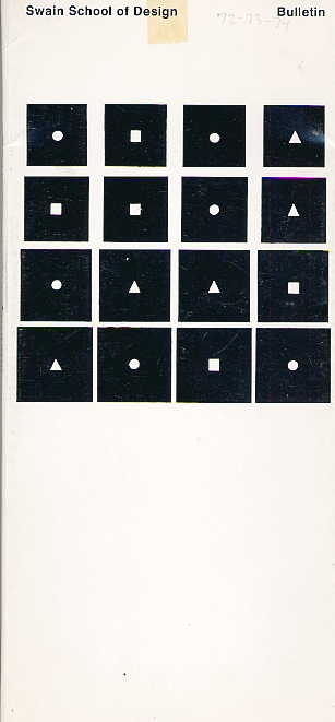 Swain catalogue cover 1972-1974