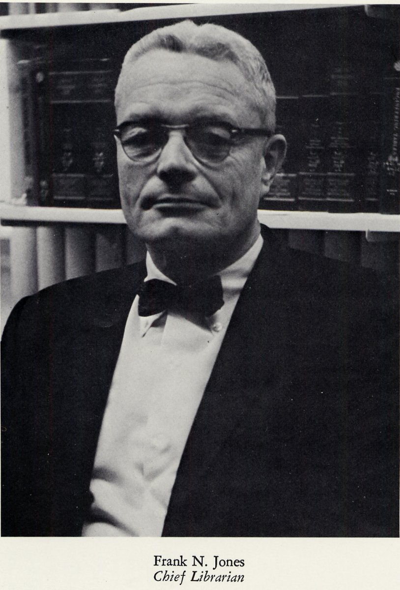 Frank Jones - Chief Librarian