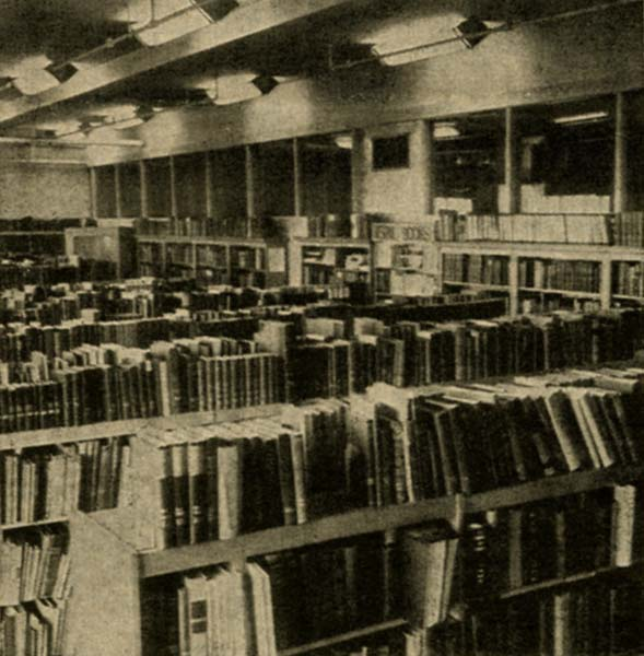 Present location of our library From the same article of the New Bedford Standard Times